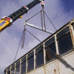 Oz Cranes Bylands Tram Job