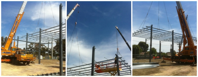 structural steel erection Bendigo